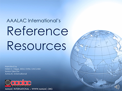 Reference Resources Overview